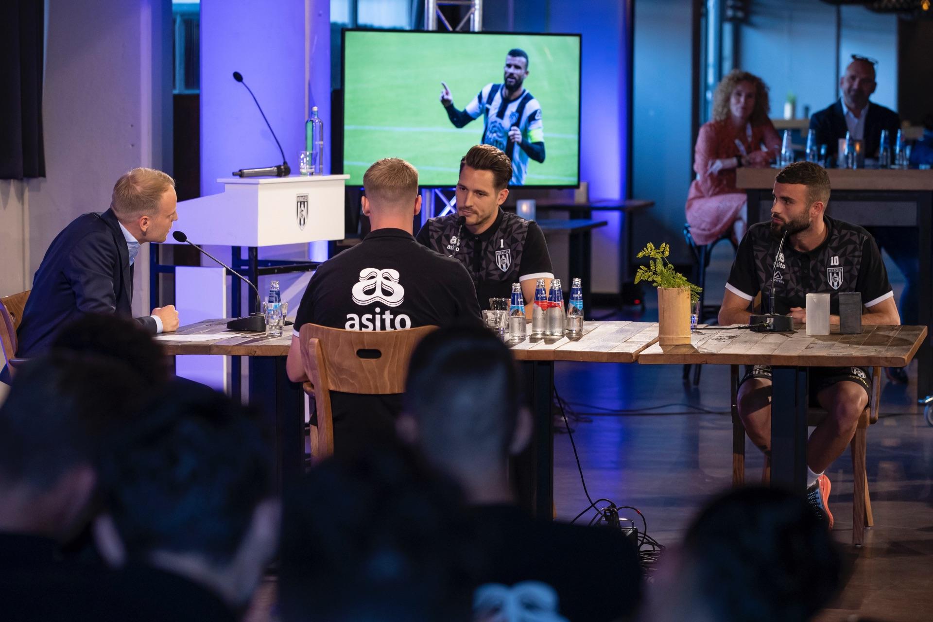 Heracles TV met Mats Knoester, Janis Blaswich en Rai Vloet